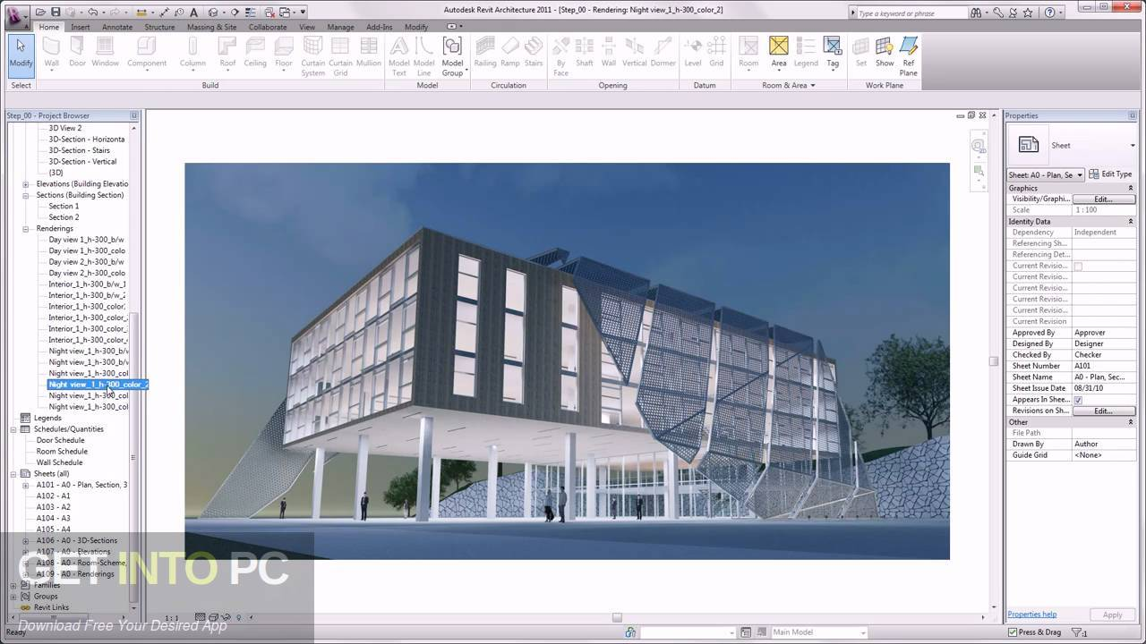 Autodesk Revit Architecture 2011 Offline Installer Download-GetintoPC.com