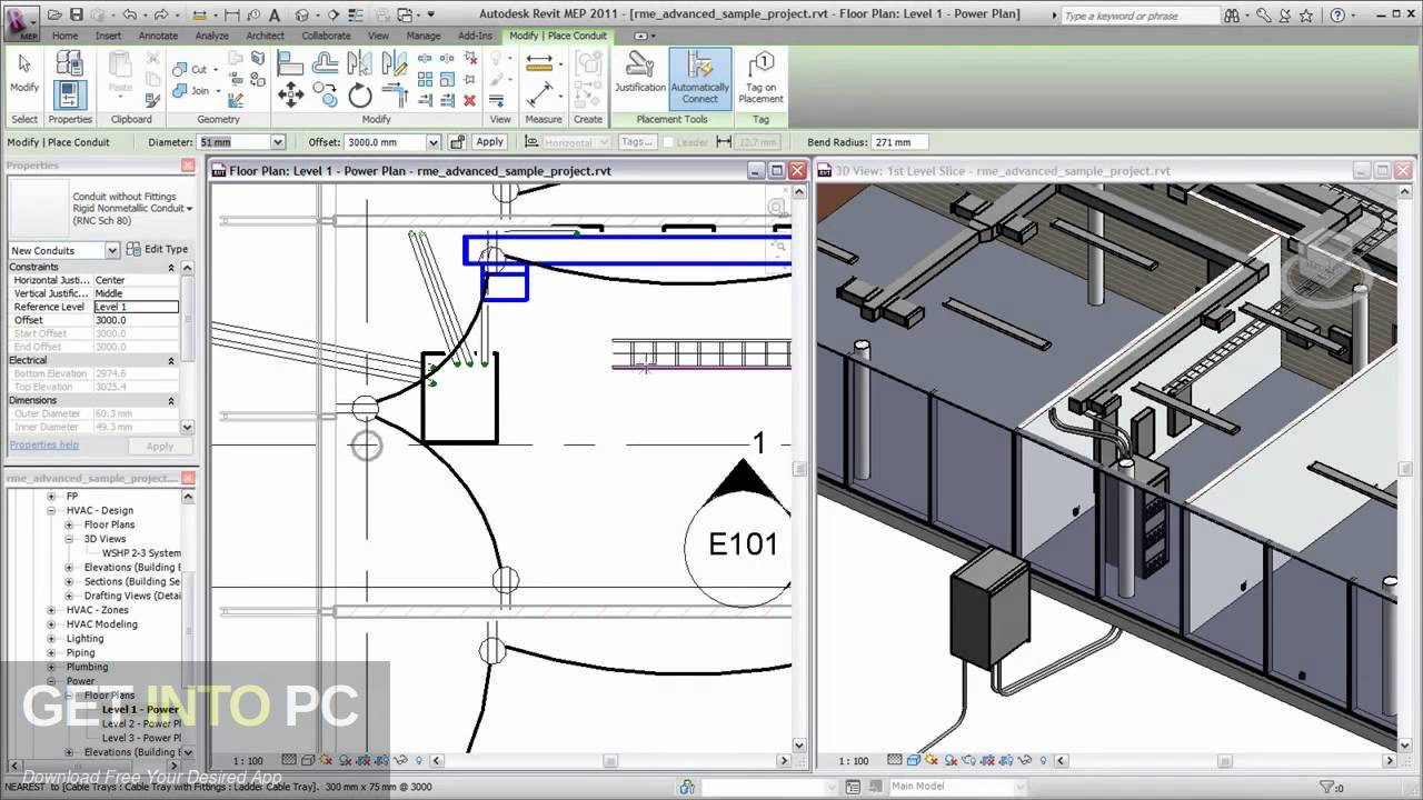 Autodesk Revit MEP 2011 Direct Link Download-GetintoPC.com