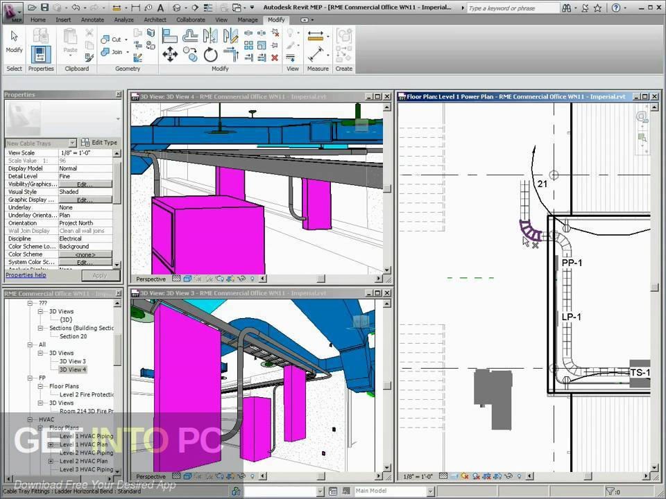 Autodesk Revit MEP 2011 Offline Installer Download-GetintoPC.com