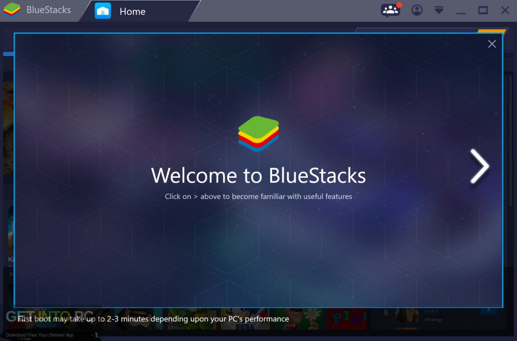 free download blue stack for pc