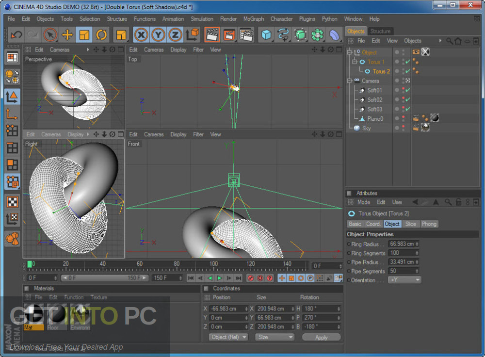 CINEMA 4D Studio R18 for Mac Direct Link Download-GetintoPC.com