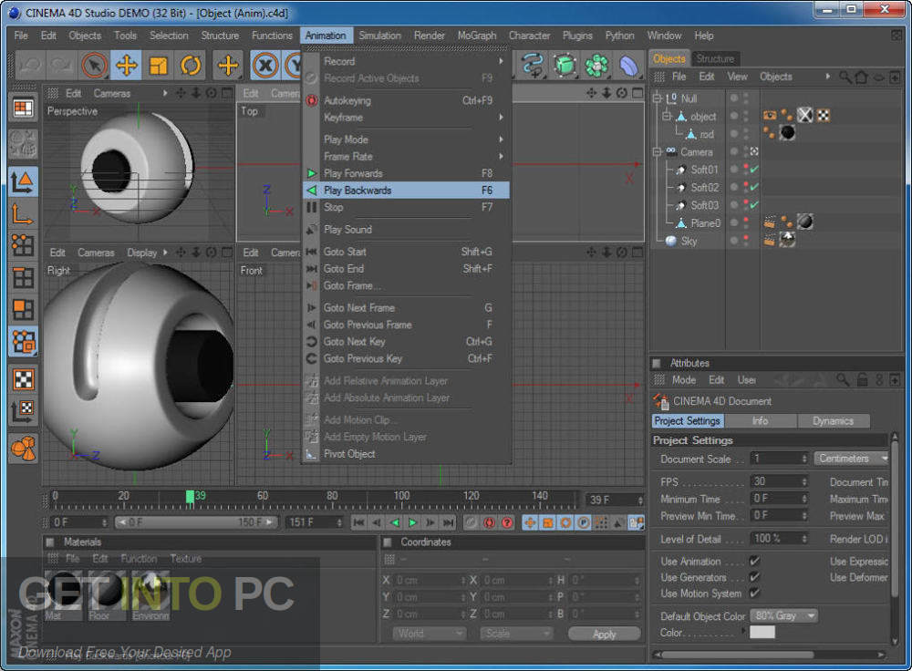 CINEMA 4D Studio R18 for Mac Latest Version Download-GetintoPC.com