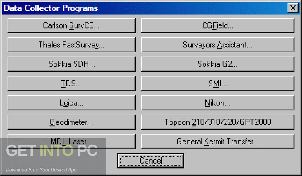 Carlson SurvCE + Data Collectors Offline Installer Download-GetintoPC.com