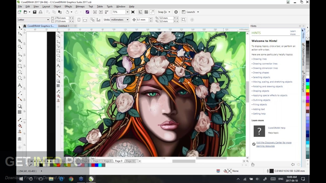 CorelDRAW Graphics Suite X5 2010 Direct Link Download-GetintoPC.com