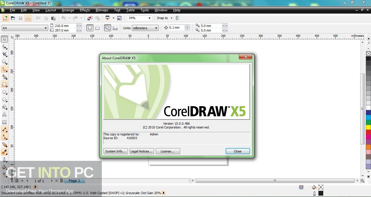 CorelDRAW Graphics Suite X5 2010 Offline Installer Download-GetintoPC.com