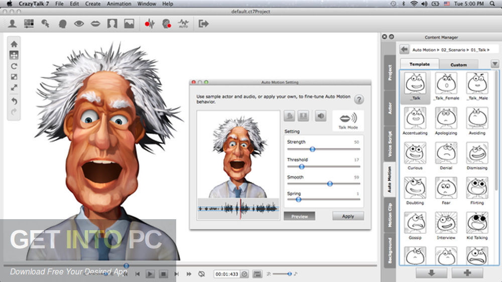 Crazy Talk Animator 7 Pro + Bonus Content Direct Link Download-GetintoPC.com