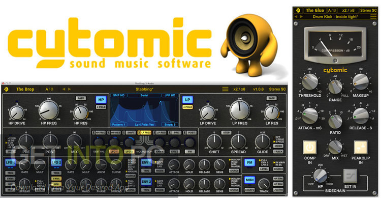 Cytomic The Glue VST Free Download-GetintoPC.com