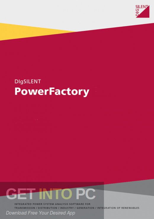 DIgSILENT PowerFactory Free Download-GetintoPC.com
