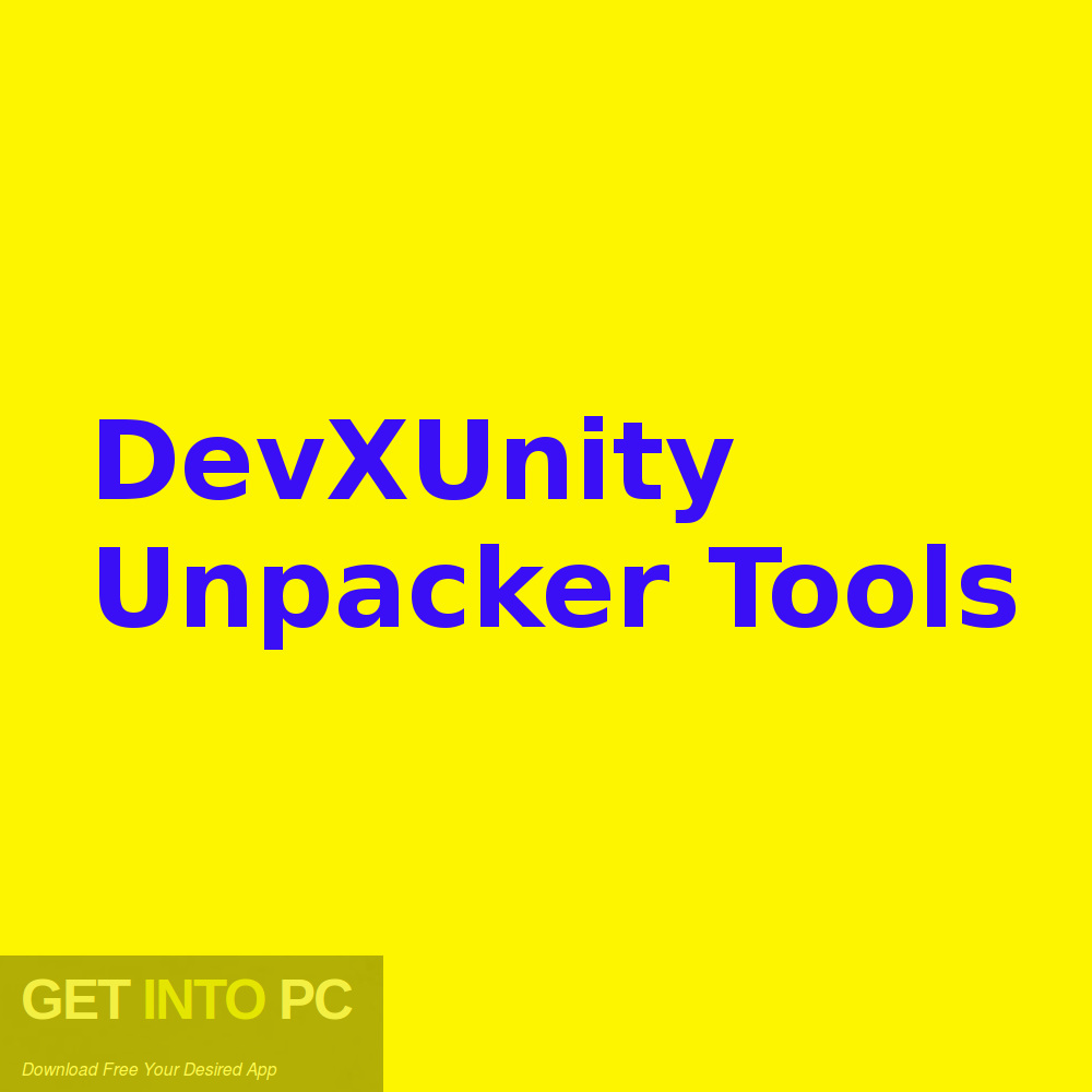DevXUnity Unpacker Tools Free Download-GetintoPC.com