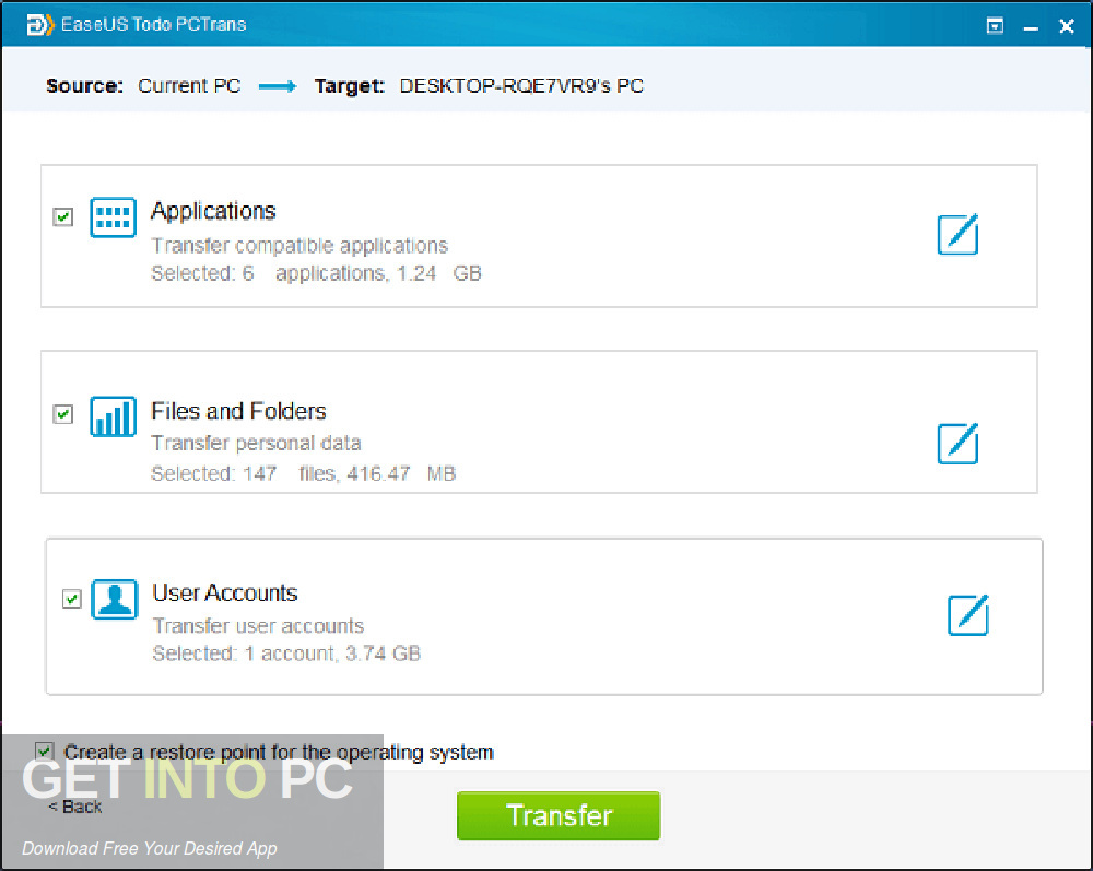EaseUS PCTrans Offline Installer Download-GetintoPC.com
