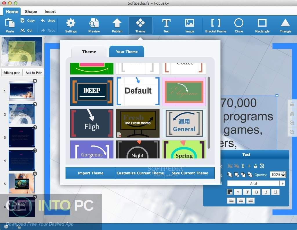 Focusky Presentation Maker Pro Latest Version Download-GetintoPC.com