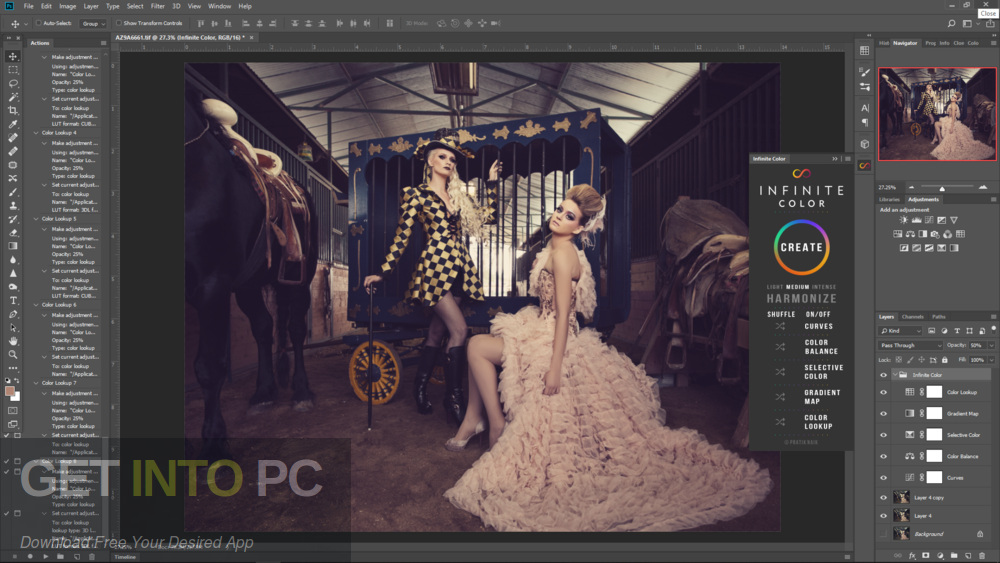Infinite Color Panel Plug-in for Adobe Photoshop for Mac Direct Link Download-GetintoPC.com