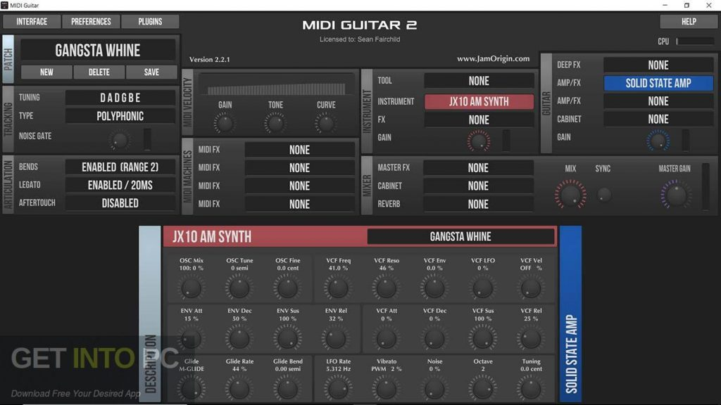 Jam Origin MIDI Guitar Direct Link Download-GetintoPC.com