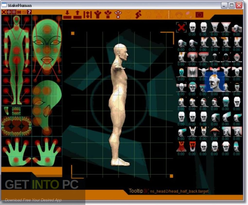 Makehuman software free download.