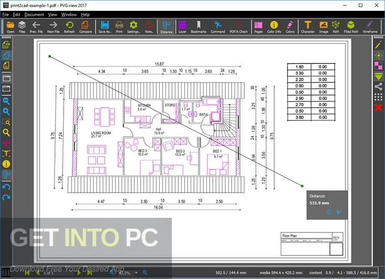 Print2CAD 2019 Offline Installer Download-GetintoPC.com