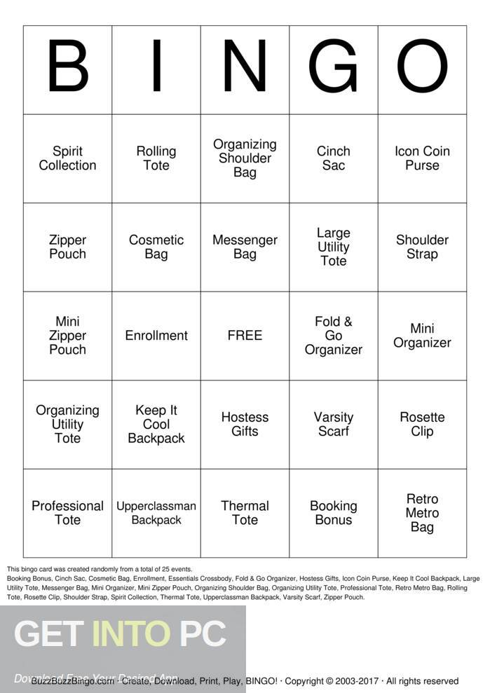Schoolhouse Technologies Bingo Free Download-GetintoPC.com