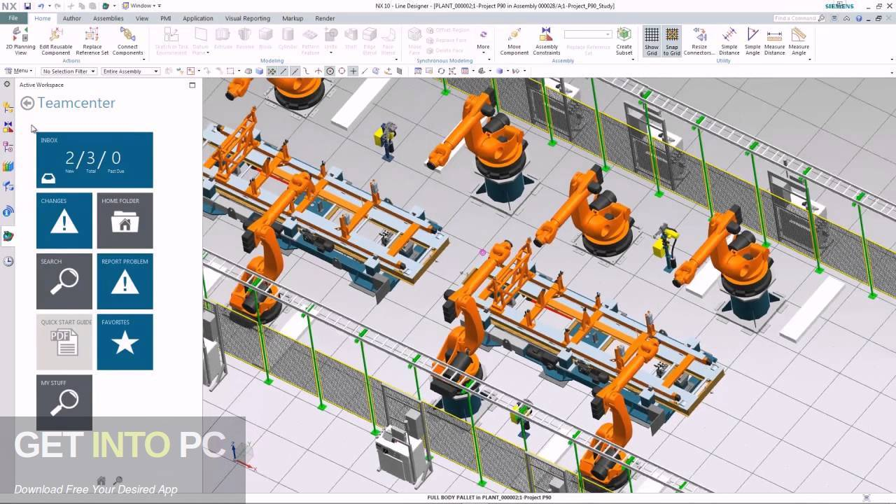 Siemens PLM NX 10 Direct Link Download-GetintoPC.com