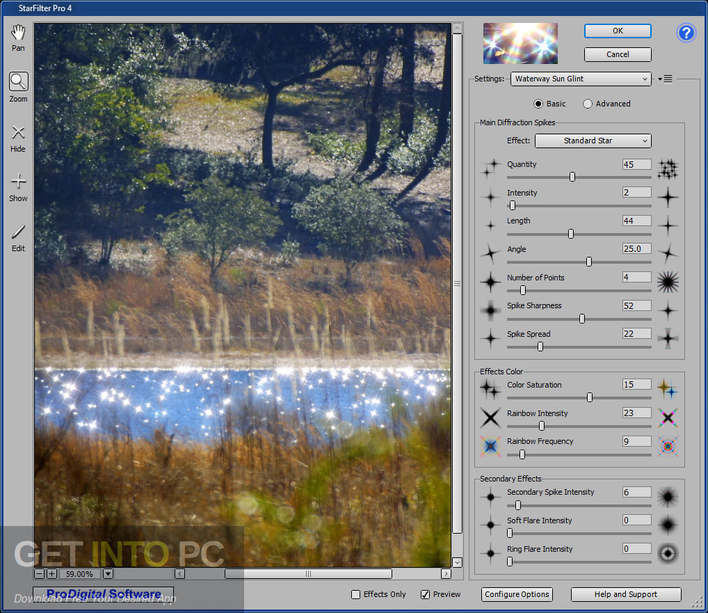 StarFilter & StarSpikes Pro Photoshop Plugin Direct Link Download-GetintoPC.com