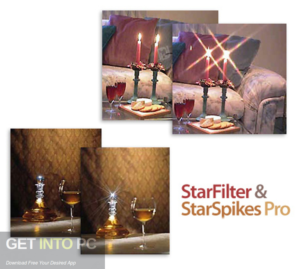 StarFilter & StarSpikes Pro Photoshop Plugin Free Download-GetintoPC.com