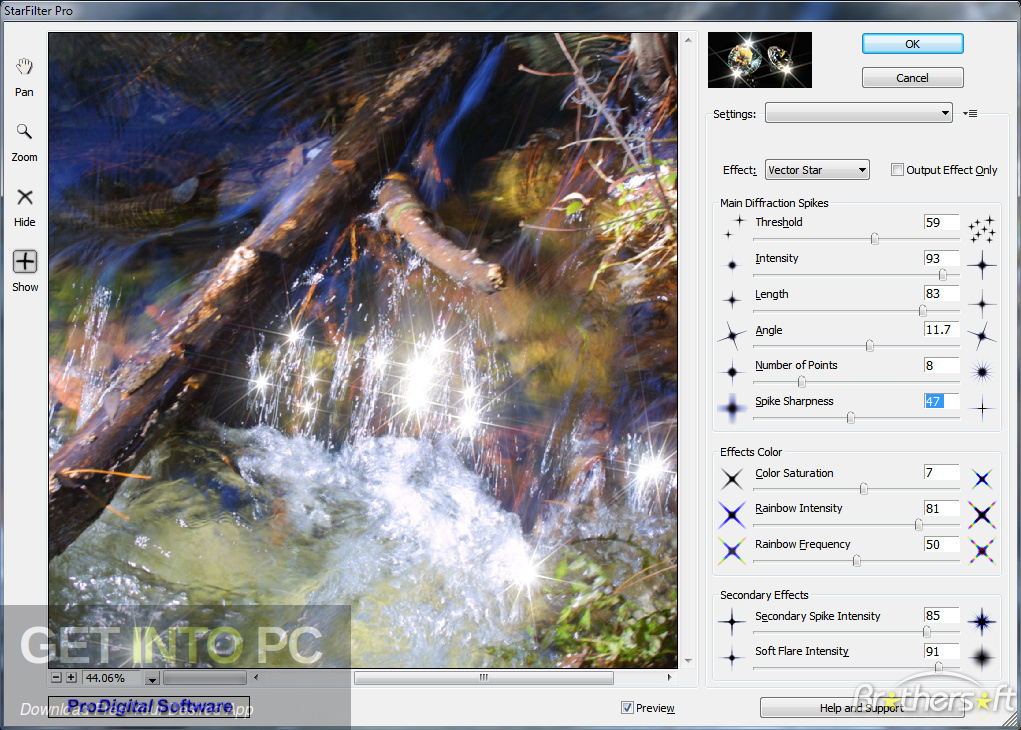 StarFilter & StarSpikes Pro Photoshop Plugin Latest Version Download-GetintoPC.com