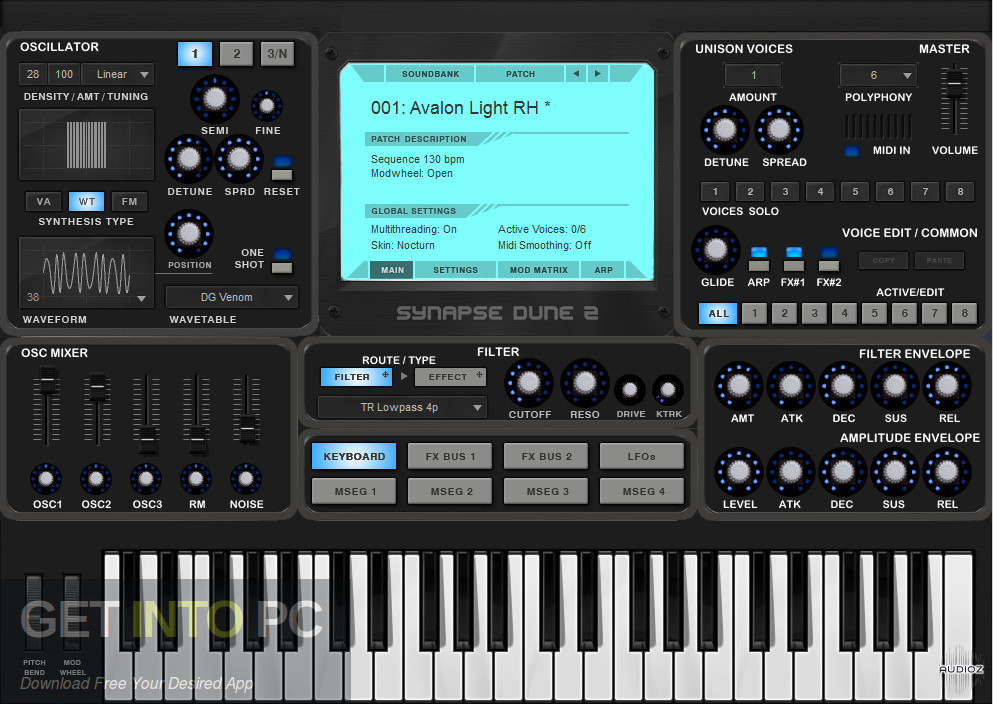 Synapse Audio DUNE VSTi Direct Link Download-GetintoPC.com