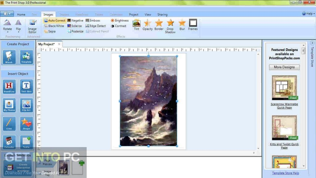 free download print shop deluxe for windows 7