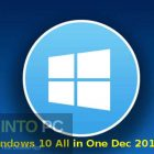 Windows 10 All in One Dec 2018 Free Download-GetintoPC.com