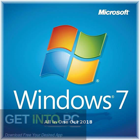 Windows 7 All In One Oct 2018 Free Download