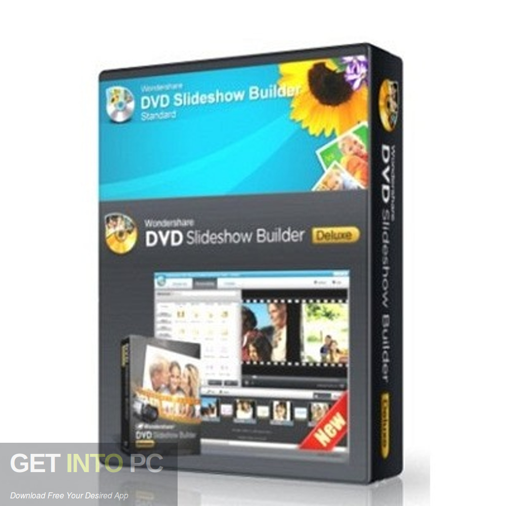 Wondershare DVD Slideshow Builder Deluxe Free Download-GetintoPC.com