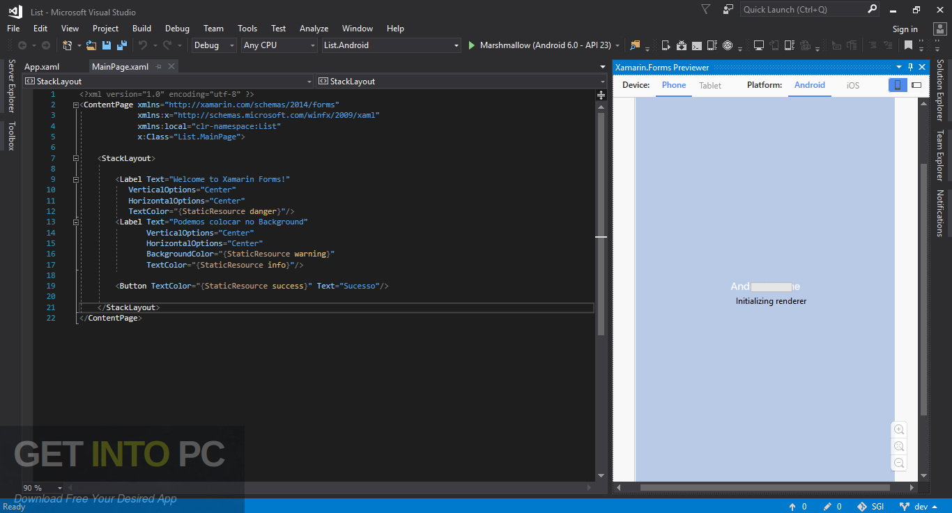 Xamarin for Visual Studio Latest Version Download-GetintoPC.com