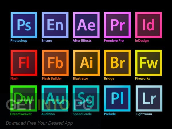 Adobe Master Collection CC 2017 Free Download-GetintoPC.com