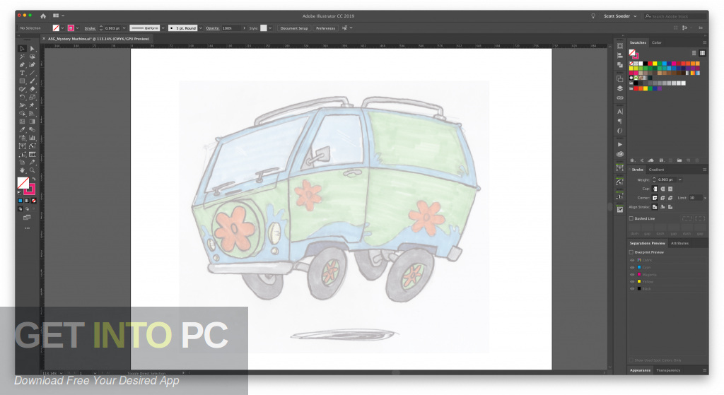 Astute VectorScribe Studio Plugin for Illustrator Direct Link Download-GetintoPC.com