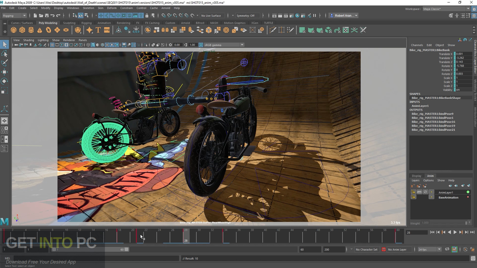 Autodesk Maya 2019 Direct Link Download-GetintoPC.com