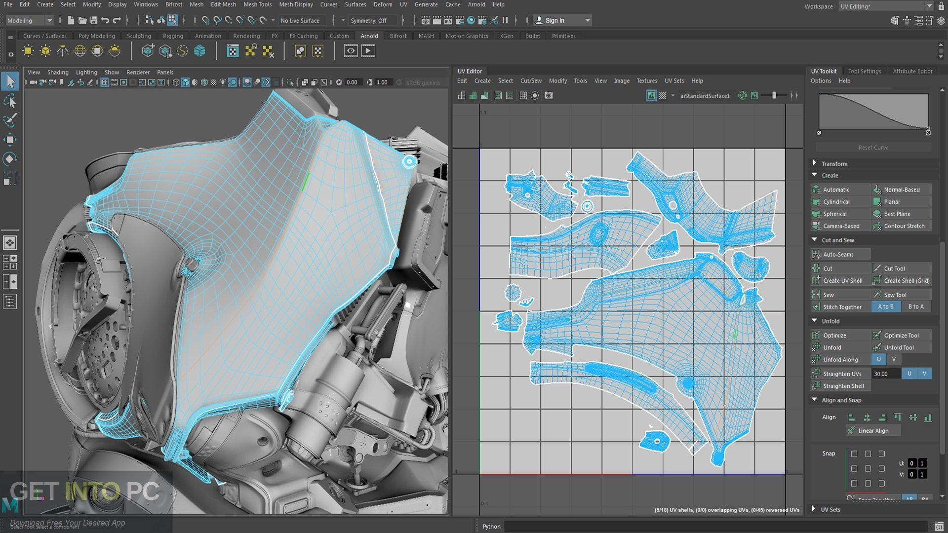 Autodesk Maya 2019 Latest Version Download-GetintoPC.com