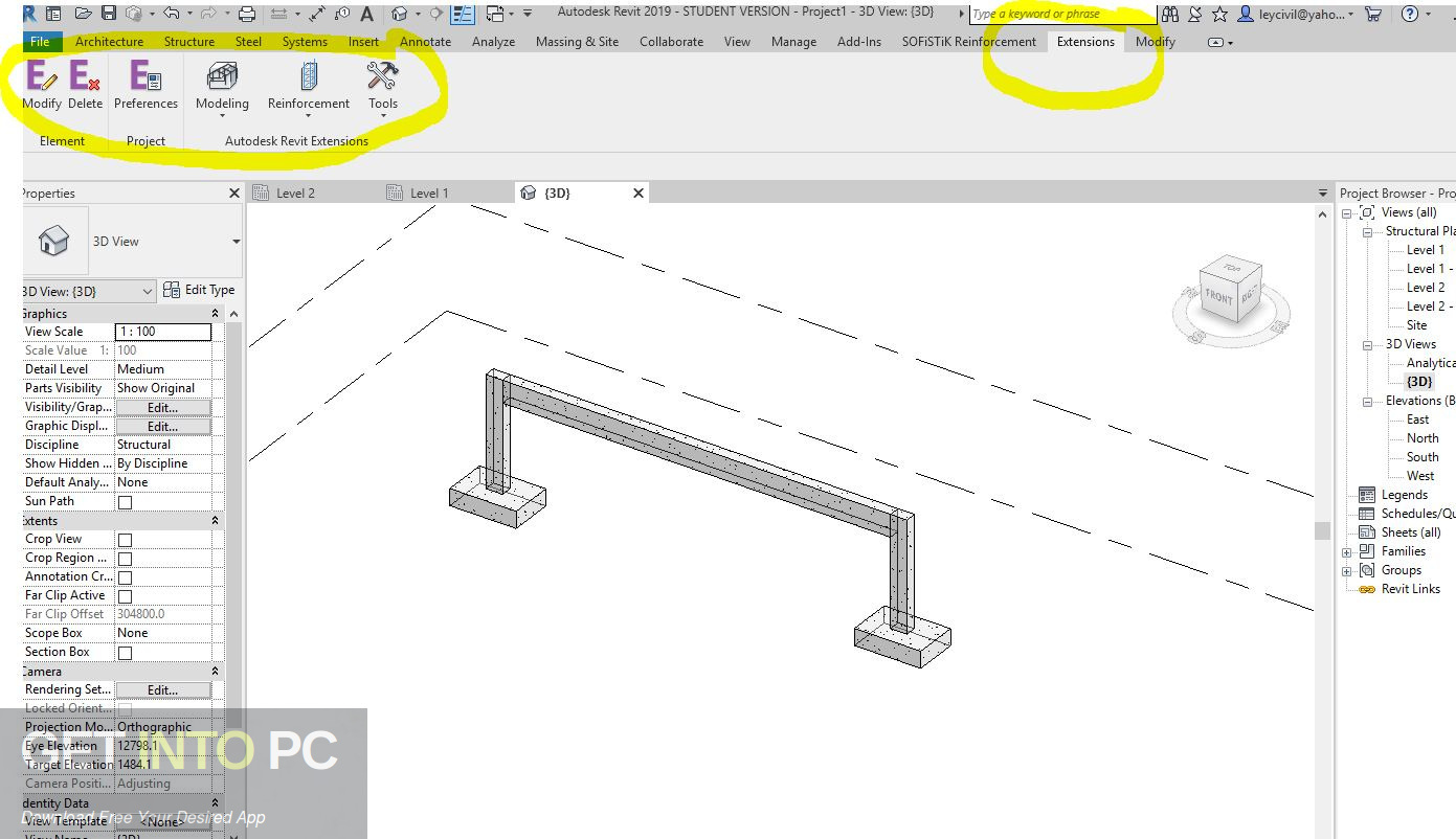 Autodesk Revit 2019 Extensions Free Download