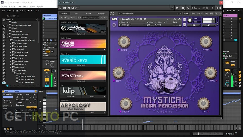 Black Octopus Mystical Indian Percussion KONTAKT Library VST Offline Installer Download-GetintoPC.com