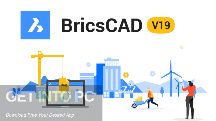 Bricsys BricsCAD Platinum 2019 Free Download-GetintoPC.com