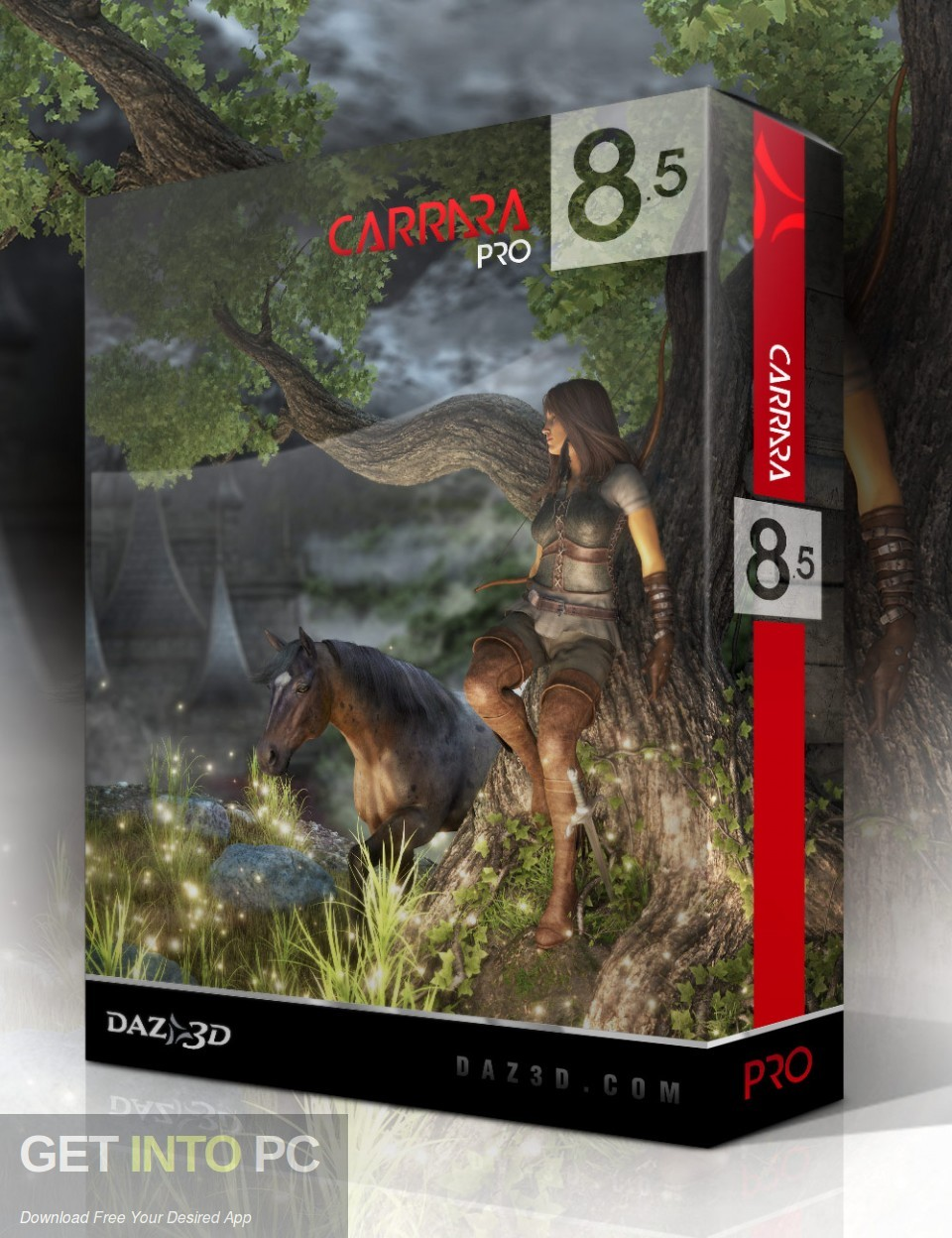Carrara Pro DAZ 3D Bundle Free Download