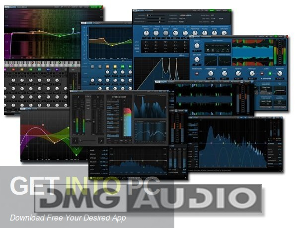 DMG Audio All VST Plugin Bundle Free Download-GetintoPC.com