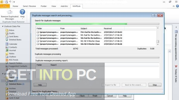 Duplicate Email Remover for Outlook Direct Link Download-GetintoPC.com