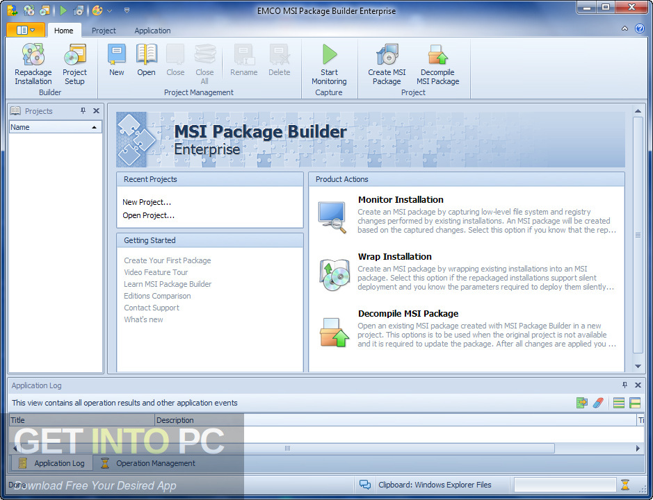 EMCO MSI Package Builder Enterprise Direct Link Download-GetintoPC.com
