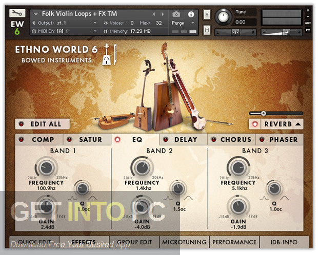 Ethno World 6 Complete VST Direct Link Download-GetintoPC.com