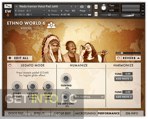 Ethno World 6 Complete VST Latest Version Download-GetintoPC.com