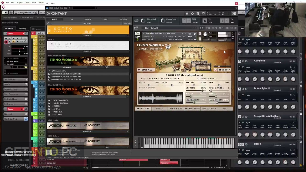 Ethno World 6 Complete VST Offline Installer Download-GetintoPC.com