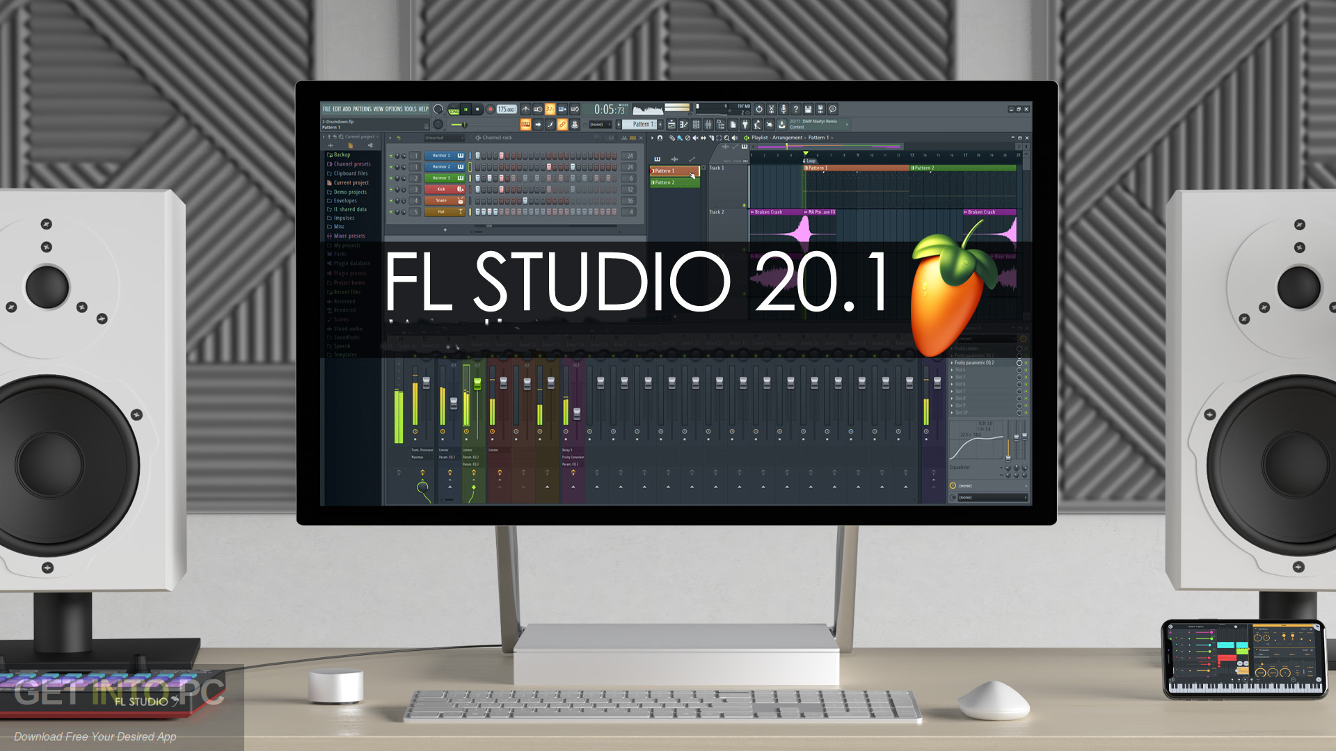 FL Studio 20.1.1 Jan 2019 Free Download-GetintoPC.com