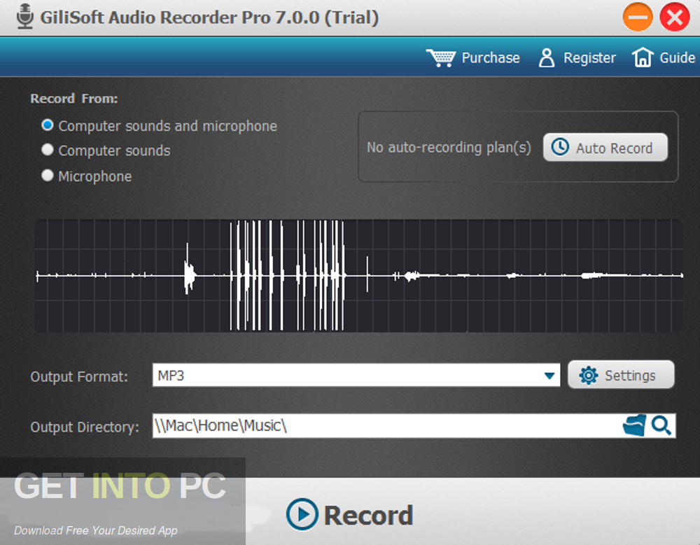 GiliSoft Audio Recorder Pro Offline Installer Download-GetintoPC.com