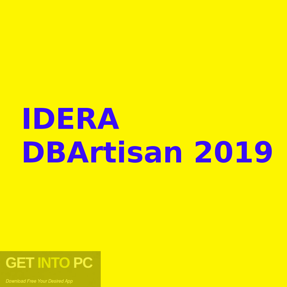IDERA DBArtisan 2019 Free Download-GetintoPC.com