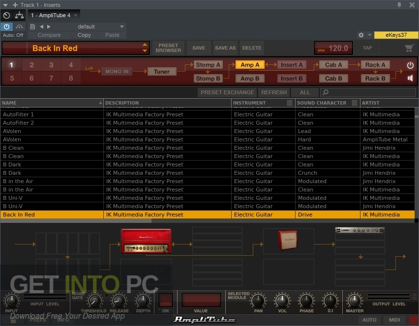 IK Multimedia AmpliTube 4 VST Direct Link Download-GetintoPC.com