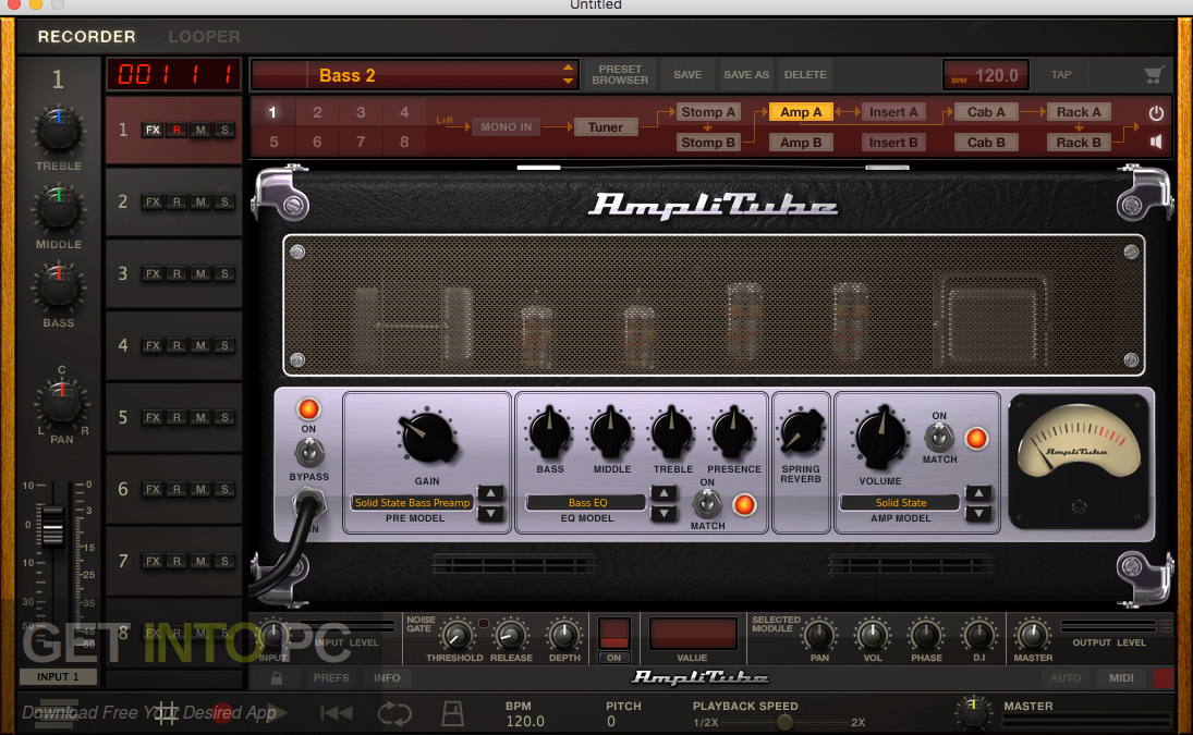 IK Multimedia AmpliTube 4 VST Offline Installer DOwnload-GetintoPC.com