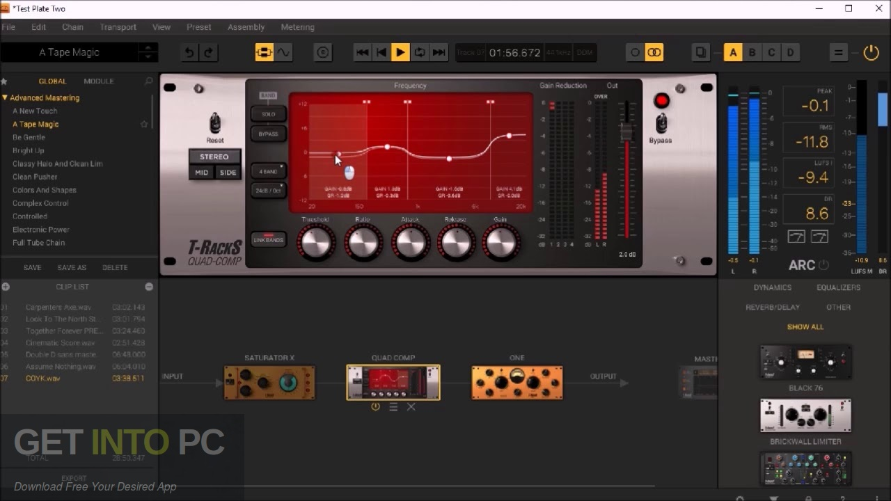 IK Multimedia T-RackS 5 VST Complete Latest Version Download-GetintoPC.com